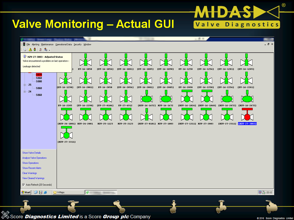 Example Of VMAP G3 Software